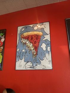 At the best resturant EVER! Zacharys Pizza in Berkely! Awesome place!