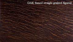 Fumed Oak Figured