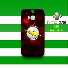 Flash HTC One M8 Case Cover Hardshell