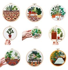Home Accessories : Cool Embroidery by Sarah K. Benning – Fawn Interior Design Studio