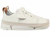 Witte Clarks Originals schoenen Trigenic Flex sneakers