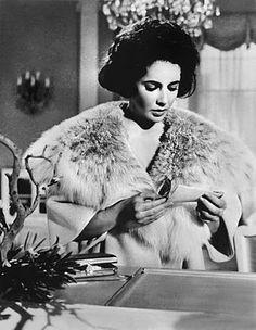 Elizabeth Taylor Vintage Fur