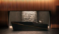 The lobby desk in one of the American Copper residential towers in New York City.  An icon in the making, ...                                                                                                                                                                                 More