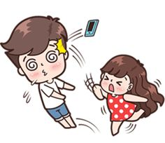 New Funny Love Illustration Sweets 26 Ideas Cute Chibi Couple, Love Cartoon Couple, Cute Couple Comics, Cute Cartoon Girl, Cute Love Gif, Cute Love Pictures, Funny Love, Cute Bear Drawings, Cute Couple Drawings