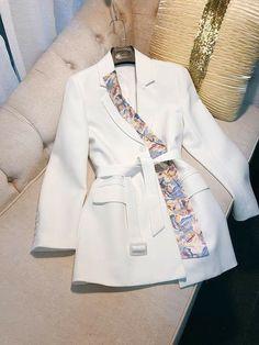 Workwear Fashion, Suit Fashion, Look Fashion, Womens Fashion, Fashion Design, Muslim Fashion, Hijab Fashion, Korean Fashion, Fashion Dresses