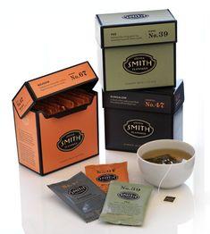 Beautiful tea packaging. steven smith II.
