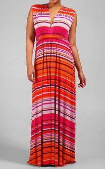 Rachel Pally Plus Size Sleeveless Maxi Caftan