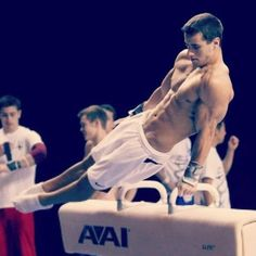 one of the best sports ever created: men's gymnastics. flex your muscles in different positions that wow us all and we'll give you a score.
