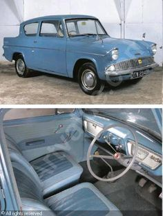 Our first car when I was a kid. Seats a family of 6 uncomfortably! Classic Cars British, Ford Classic Cars, Ford Motor Company, Car Ford, Ford Trucks, Ford Anglia, Family Of 6, Ford Capri, First Car