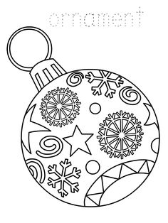 Printable-Christmas-Ornament-Coloring-Page.png (768×1024)