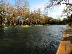 """One Mile"" Swimming Pool, Bidwell Park, Chico, California"