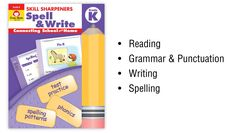 """See our """"Skill Sharpeners: Spell & Write"""" in action. (Audio Description)"""