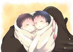Ao no Exorcist- Yukio and Rin Okumura as babies