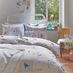 #Ariadne at home #dekbedovertrek Bird Song www.beterbed.nl