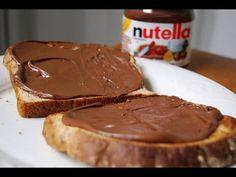 Nutella Bimby TM5: Ricetta fatta in casa - YouTube