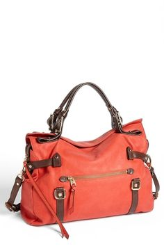 Elliot Lucca 'Sola' Satchel Poppy from Nordstrom on shop.CatalogSpree.com, your personal digital mall.