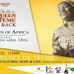 La diva Queen Eteme de retour, point de presse prévu ce mercredi à  Yaoundé.