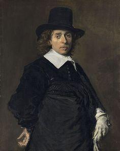 Frans Hals's painting Adriaen van Ostade, from c. 1645/1648