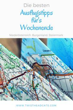 #Langeweile am #Wochenende? Mit diesen #Tipps ist endlich Schluss damit, denn ich habe die besten #Ausflugsziele für #Niederösterreich, #Burgenland und die #Steiermark für euch!
