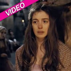 """Anne Hathaway singing a parody of """"On my Own"""" from the musical Les Miserables"""