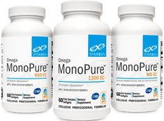 Omega MonoPure 1300 EC - 120 Softgels olive extract, found in Omega MonoPure MD EC, provides additional cardiovascular support. Omega MonoPure 1300 EC is available in 60 softgels and 120 softgels. Omega MonoPure 650 EC is available . Pickvitamin.com