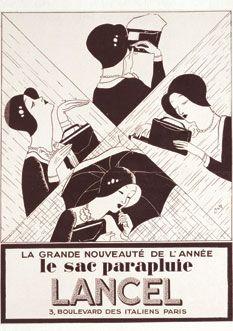 Sac parapluie Lancel 1929