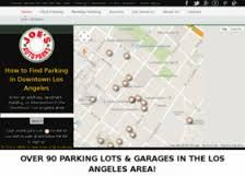 Joe's Auto Parks provides premiere parking services at downtown Los Angeles with affordable prices. We also offer secure, competitive and cheap parking services for our customers.