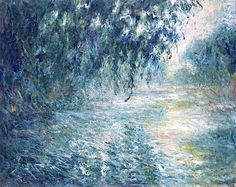 Morning on the Seine, 1898 / Claude Monet