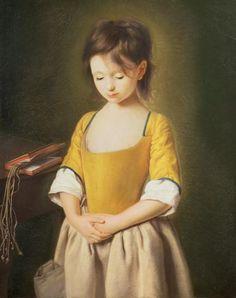 Pietro Antonio Conte Rotari - Portrait of a Young Girl, La Penitente