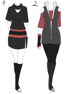 Naruto Outfit aution adoptable batch 2 (OPEN) by Y-uno on DeviantArt
