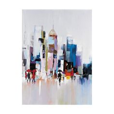 Urban Landscape Canvas Wall Art #UrbanLandscape