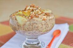 Apple Pie Oatmeal Recipe by JO_JESSICA via @SparkPeople