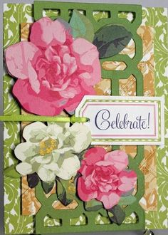 http://www.ebay.com/itm/CELEBRATE-ALL-OCCASION-HANDMADE-GREETING-CARD-PINK-GREEN-FLORAL-ANNA-GRIFFIN-/200925645418