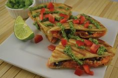 When quesadillas meet sweet potatoes, you're in for a savory, colorful, healthy meal that will delight your taste buds and satiate your hunger.
