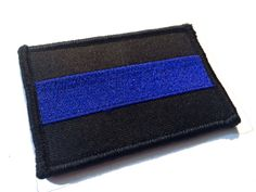 Solid Tactical Police law enforcement Thin Blue by TacticalTextile