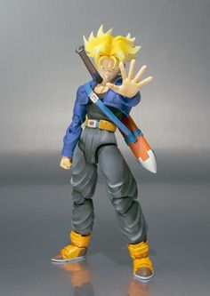 Amazon.com: Bandai Trunks S.H. Figuarts: Toys & Games