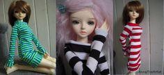 striped slim MSD dress - JennyTheArtist via Etsy.