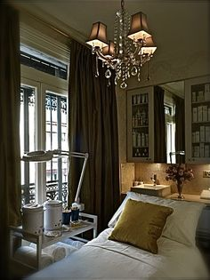 Dreamy room! Carita Paris facial room. It's been said that Paris offers the best facials in the world