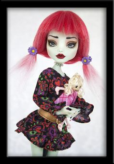 Sukie - OOAK Custom Frankie Stein by *IvyHeartDesigns on deviantART