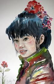 portrait aquarelle - Recherche Google