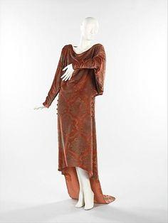 Платье 1927 года. США. Maria Monaci Gallenga