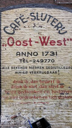 """""""Oost-West"""""""
