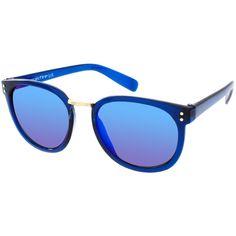Солнцезащитные очки с круглой оправой Spitfire Babet, эксклюзивно для... ($28) ❤ liked on Polyvore