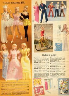 1978 wards Doll Clothes and Barbie Stuff