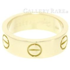 カルティエ リング ラブリング K18YGイエローゴールド リングサイズ B4084600 B4084649 Cartier 指輪 ジュエリー