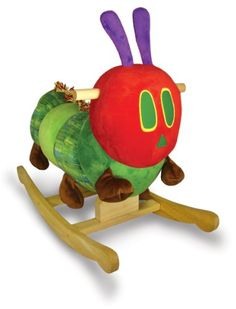 Very Hungry Caterpillar Rocking Horse #very #hungry #caterpillar #birthday #party #theme #buffet #decorate #book #child #children #kid #toddler #baby #rocking #horse #rocker #toy