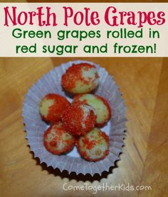 Come Together Kids: North Pole Grapes