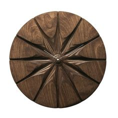 Beautiful Carved Wood Clock