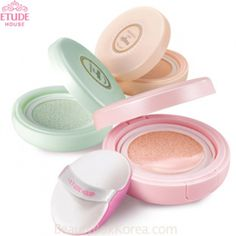 ETUDE HOUSE Precious Mineral MAGIC Any Cushion 15gA multi color cushion soaked in foundation, it can be bb or cc cream too, housed in a chunky compact with second lid/compartment for the puff and also to keep the foundation from drying.6-in-1 almighty cre