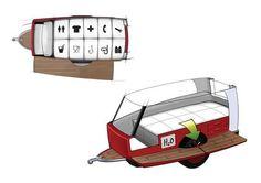Floating Mobile Tents : Nautic Sleeper Aquatic Tent: